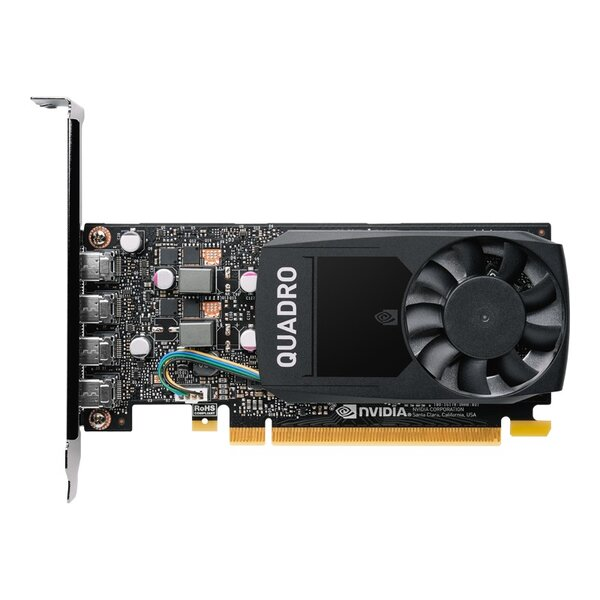 PNY Quadro P620 2GB GDDR5, 128-bit, PCI Express 3.0 - Видео карта