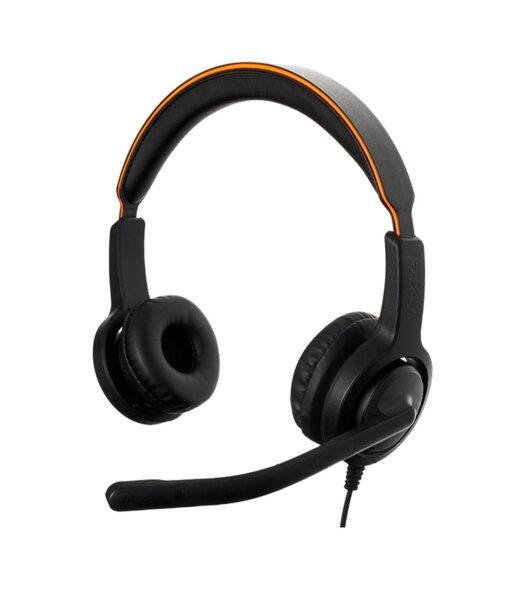 Axtel Voice UC40 Duo NC - Професионална микрогарнитурач