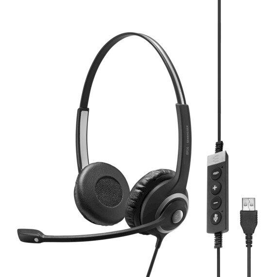 Sennheiser IMPACT SC 260 USB-A MS II - Професионална микрогарнитура