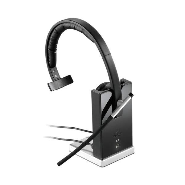 Logitech H820e Mono DECT - Безжична бизнес слушалка