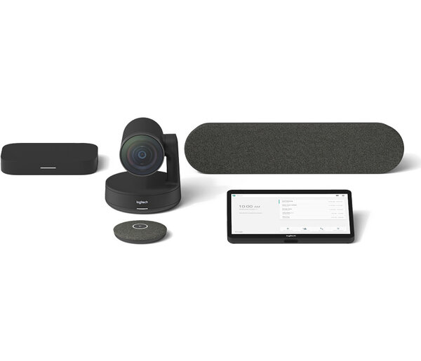 Logitech TAP Bundle Rally Medium Room Google - Видеоконферентни системи
