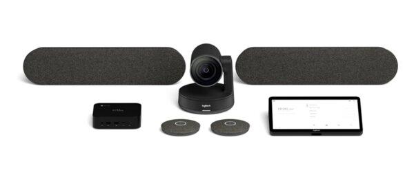Logitech TAP Bundle Rally Plus Large Room Google - Видеоконферентни системи