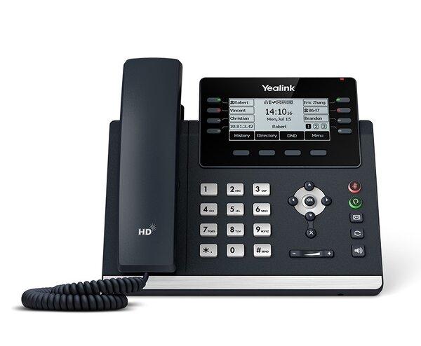 Yealink T43U - VoIP (SIP) телефонен апарат