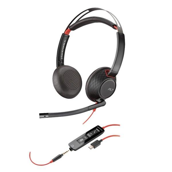 PLANTRONICS Blackwire C5220 USB-C - Професионална микрогарнитура