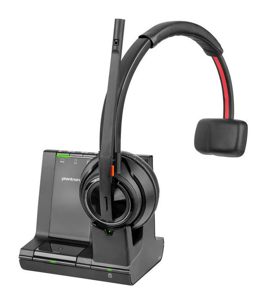 Plantronics SAVI 8210 UC DECT 3 в 1 - Безжична микрогарнитура