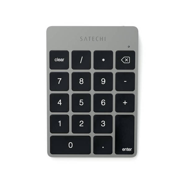 Satechi Slim Aluminum Wireless Keypad - Bluetooth клавиатура