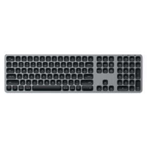 Satechi Aluminum Wireless Keyboard with Numeric Keypad - Алуминиева безжична клавиатура за Mac