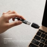 Elago USB-C Male to USB-A 3.0 Female Adapter - USB адаптер