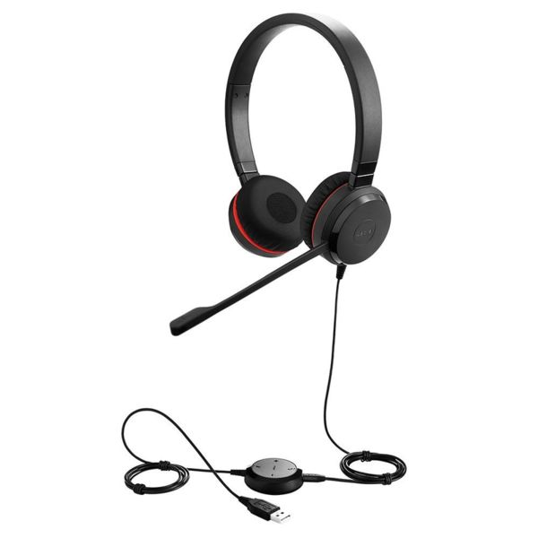 Jabra EVOLVE 30 II MS Duo USB - Професионална микрогарнитура