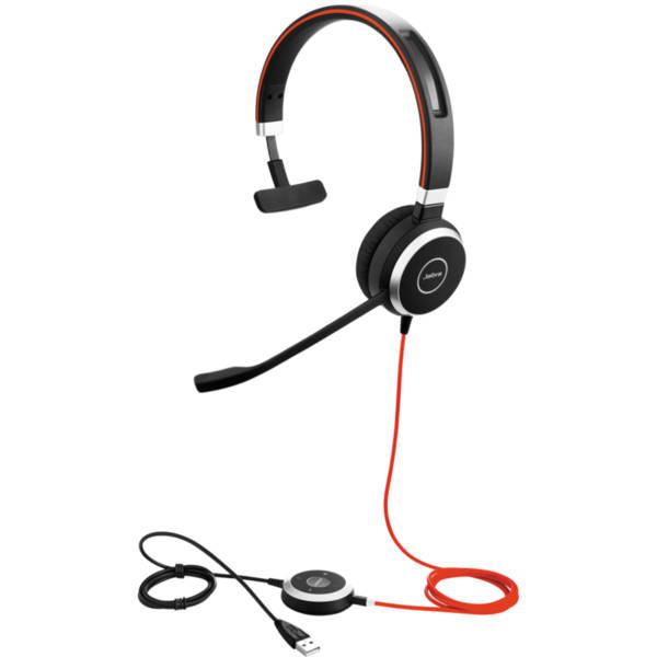 Jabra EVOLVE 40 MS Mono USB - Професионална микрогарнитура