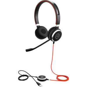 Jabra EVOLVE 40 UC Duo USB - Професионална микрогарнитура