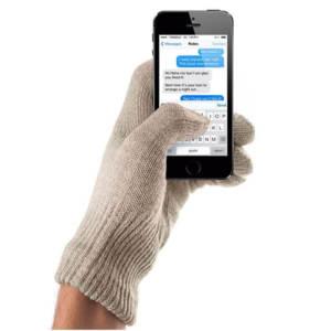 Mujjo Touchscreen Gloves Sansstone Size S/M - Зимни ръкавици за тъч екрани