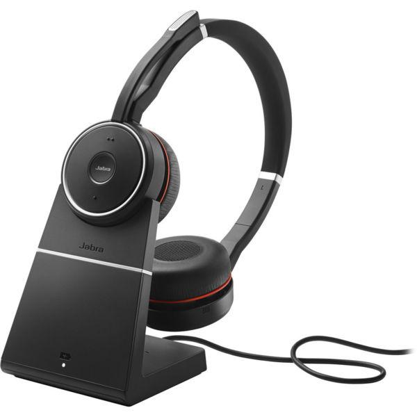 Jabra EVOLVE 75 MS Duo USB - Професионална микрогарнитура