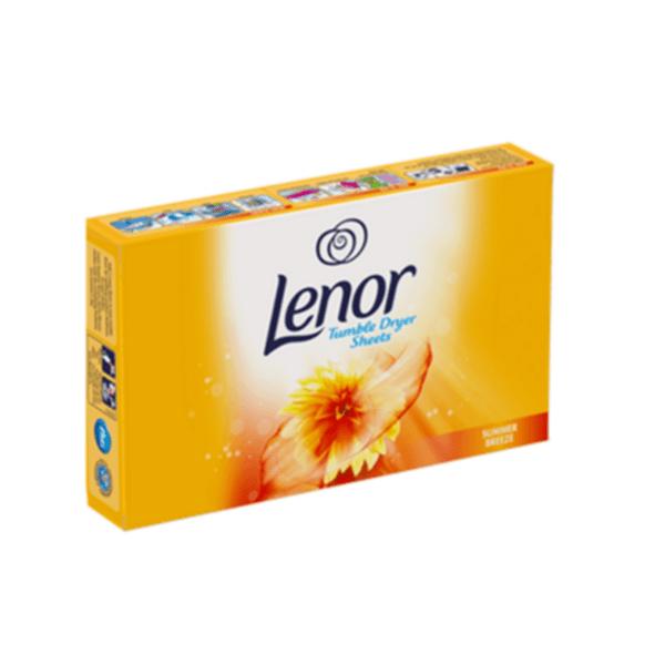 Кърпички за сушилня Lenor Summer Breeze, 34 броя