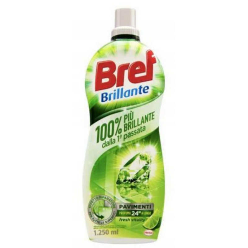 Почистващ препарат за под Bref Fresh Vitality, 1.250 л