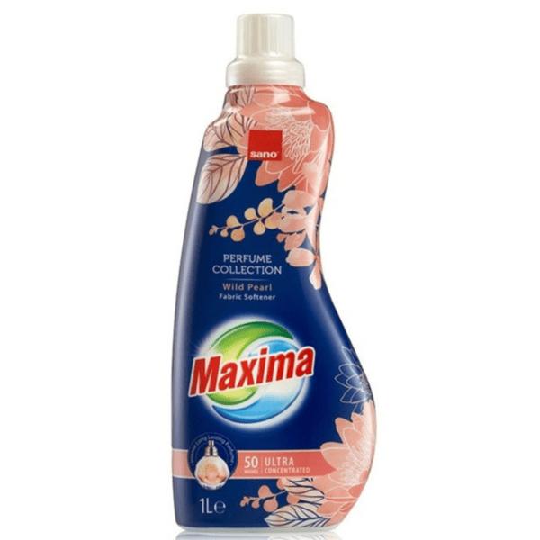Омекотител Sano Maxima Wild Pearl, 1 литър, 50 пранета