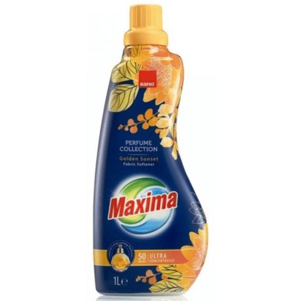 Омекотител Sano Maxima Golden Sunset, 1 литър, 50 пранета