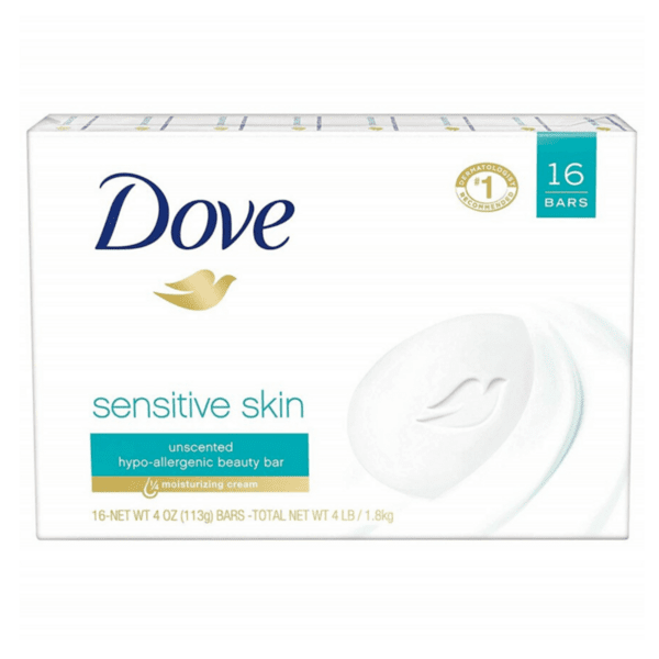 Крем сапун Dove Sensitive Skin, 100 гр