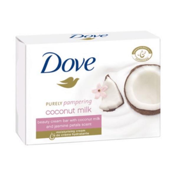 Крем сапун Dove Coconut Milk, 100 гр