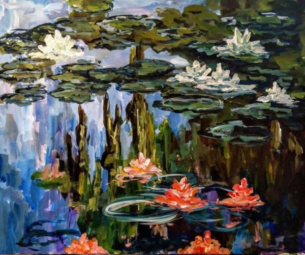 Водни лилии - Клод Моне  31.05.19