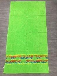 Плажна кърпа Воден свят-зелено