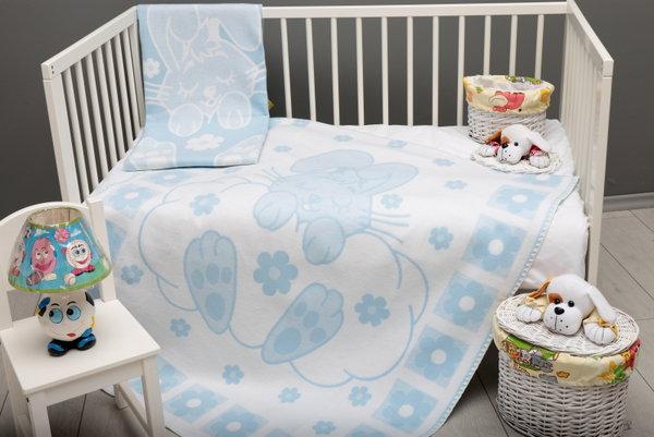 Одеяло 80-1005 L.BLUE-10