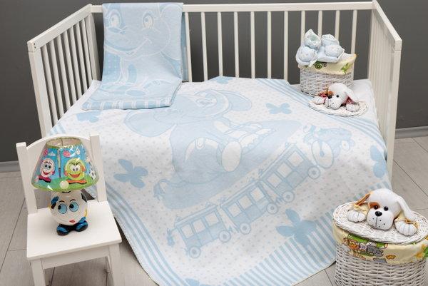 Одеяло 80-1013 L.BLUE