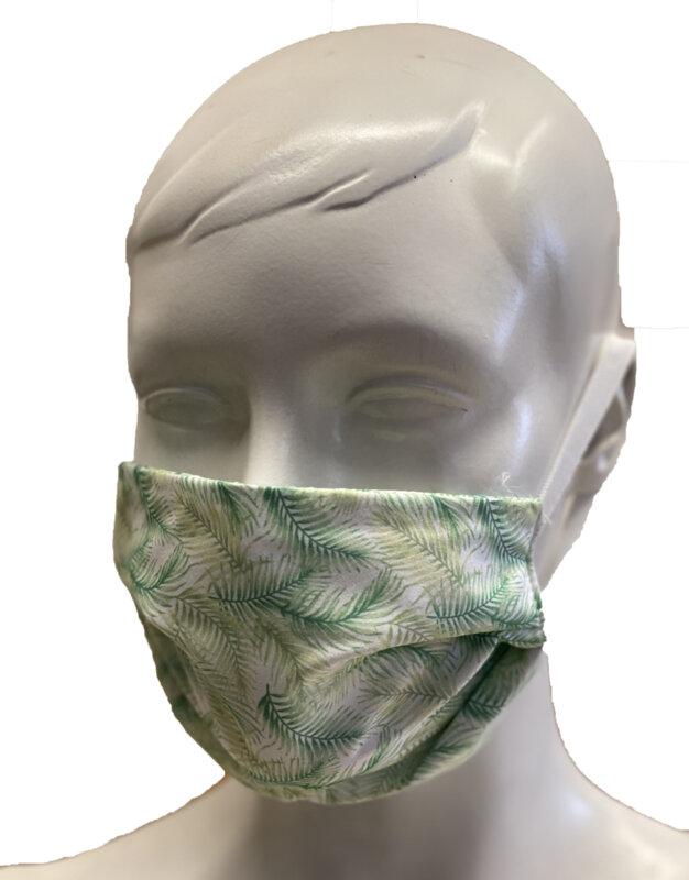 Маска за лице с печат 14 - многократна употреба