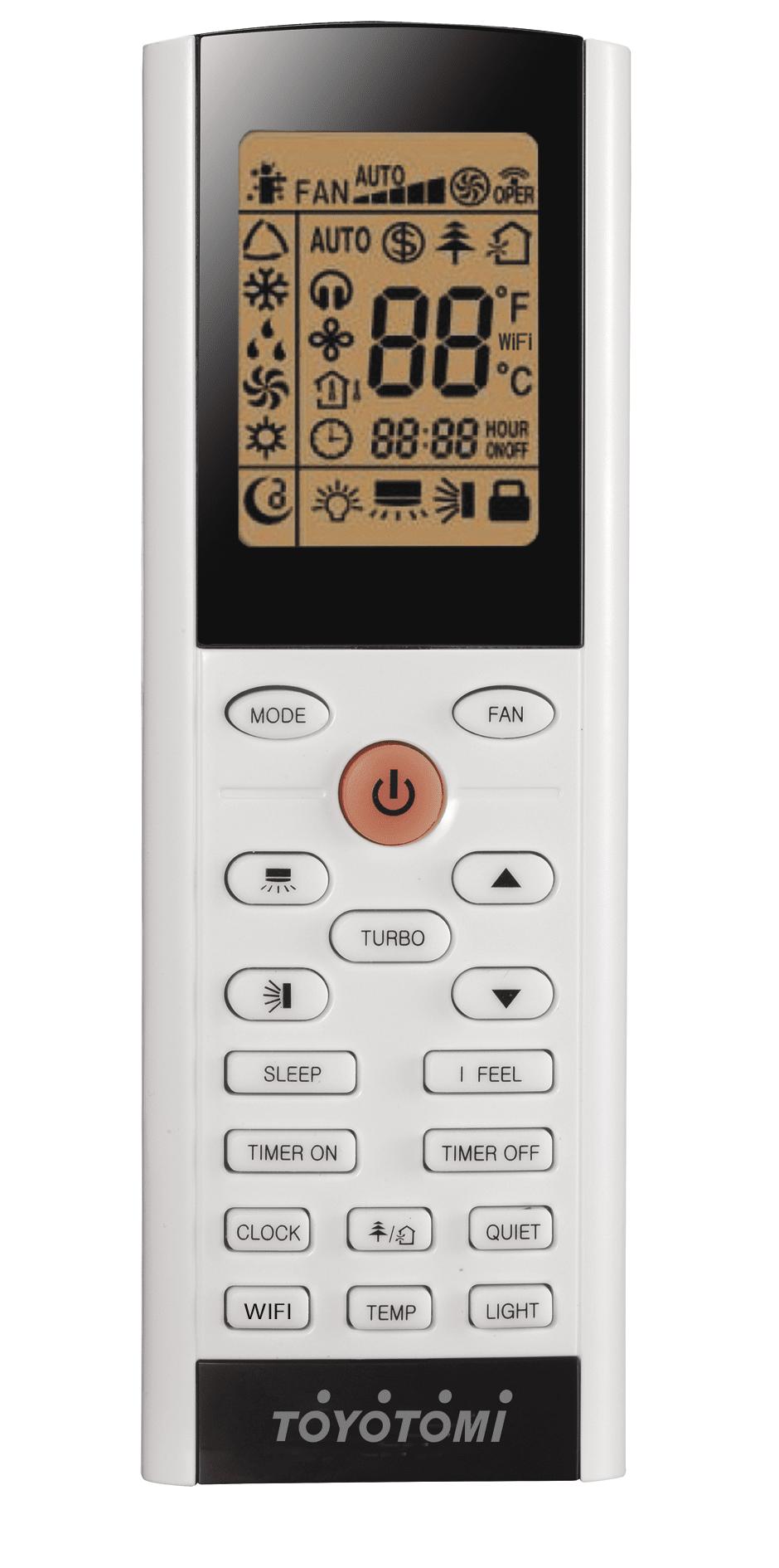 Toyotomi remote control