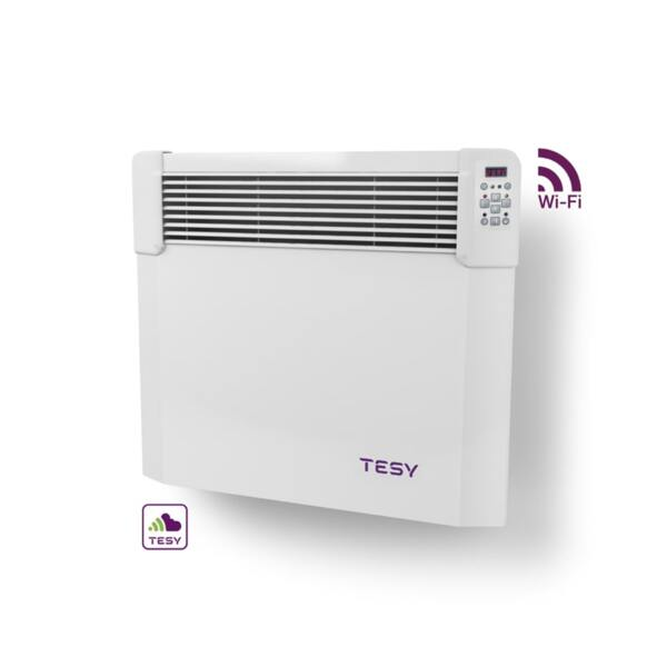 Конвектор Tesy CN 04 050 EIS CLOUD W, 500W, WiFi управление, Електронен термостат