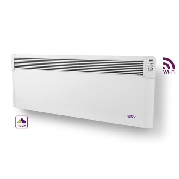 Конвектор Tesy CN 04 300 EIS CLOUD W, 3000W, WiFi управление, Електронен термостат