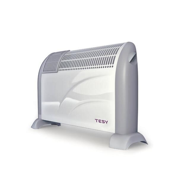 Подов конвектор Tesy CN 203 ZF, 2000W,  Механичен термостат, Вентилация