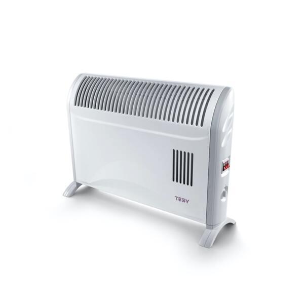 Подов конвектор Tesy CN 204 ZF, 2000W,  Механичен термостат, Вентилация