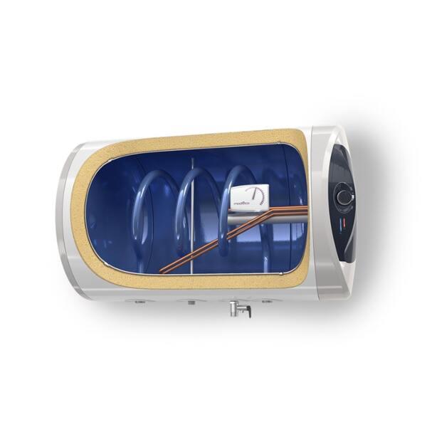 Електрически бойлер Tesy ModEco GCHS 120 47 20 C21 TSRCP, 118 л, Хоризонтален монтаж, Серпентина, 2000W