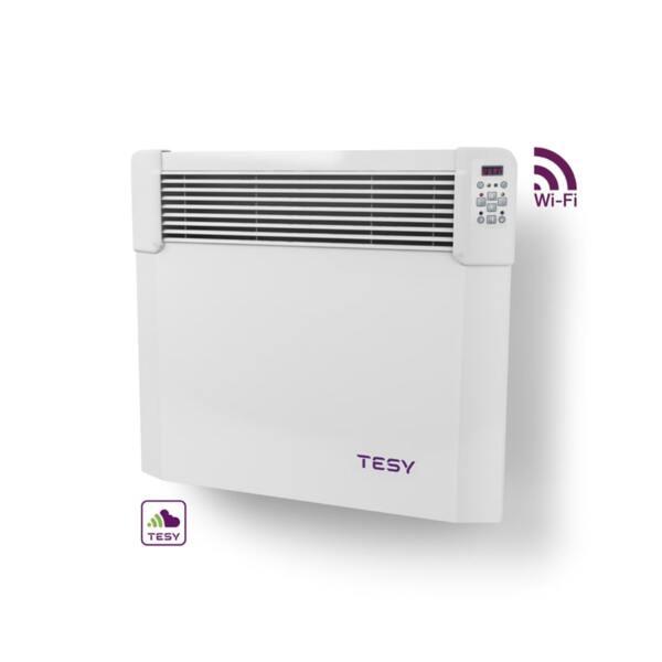Конвектор Tesyic CN 04 050 EIS CLOUD W, 500W, WiFi управление, Електронен термостат