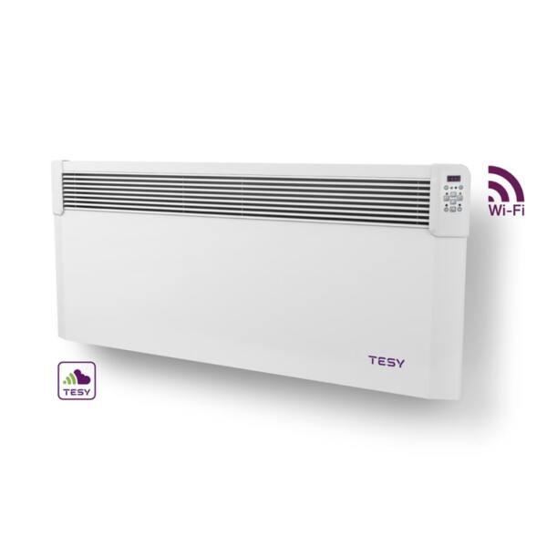 Конвектор Tesyic CN 04 250 EIS CLOUD W, 2500W, WiFi управление, Електронен термостат