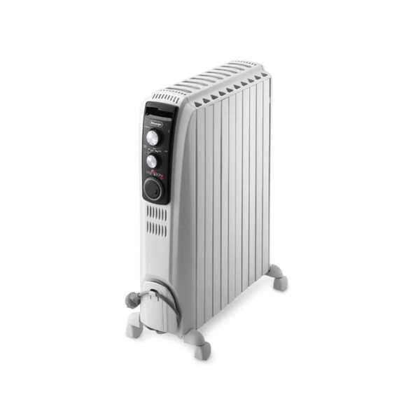 Маслен радиатор DeLonghi Dragon4 TRD4 1025, 2500W, Механичен терморегулатор