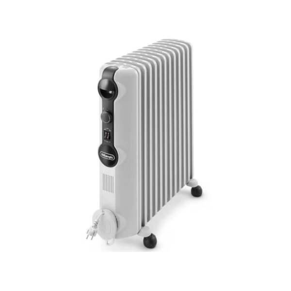 Маслен радиатор DeLonghi Radia S TRRS 1225, 2500W, Механичен терморегулатор