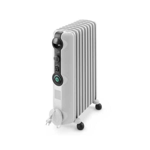 Маслен радиатор DeLonghi Radia S TRRS 0920, 2000W, Механичен терморегулатор