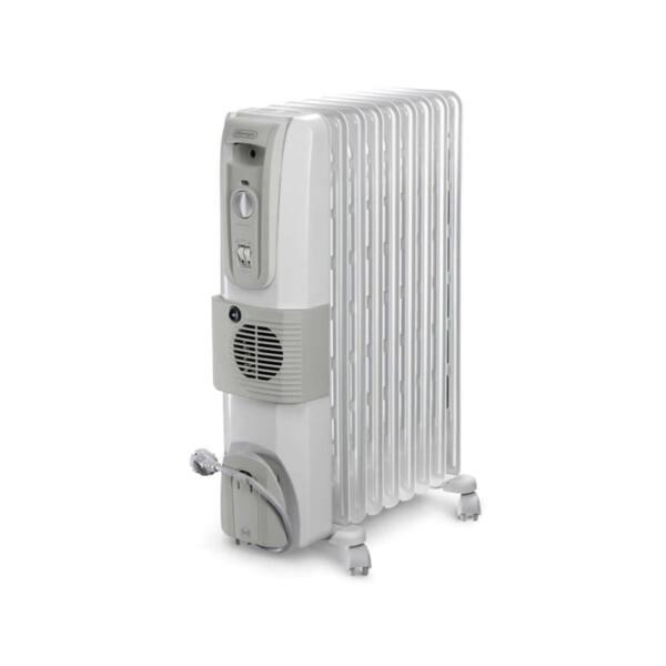 Маслен радиатор DeLonghi KH 770925 V, 2500W, Термовентилатор