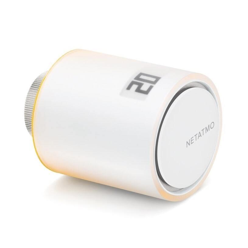 Netatmo допълнителна умна радиаторна термоглава