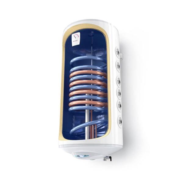 Електрически бойлер Tesy BiLight GCV7/4S 100 44 30 B11 TSRP2, 100 л, Вертикален монтаж, Две серпентини, 3000W