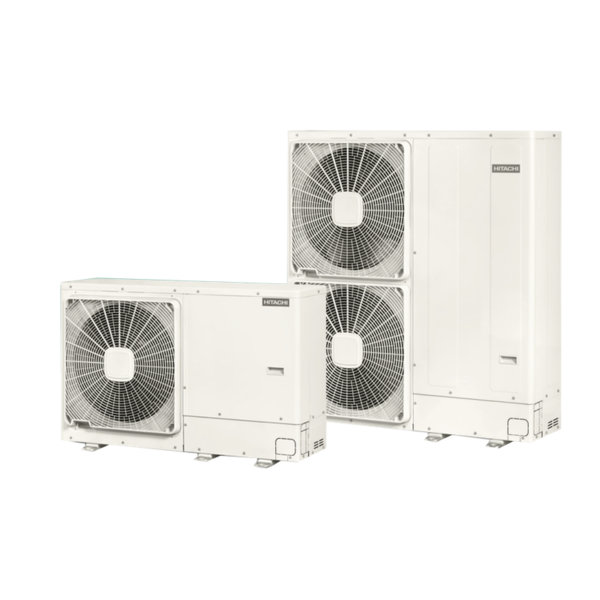 Термопомпа Hitachi Yutaki M RASM-3VNE, 7.5 kW, отопление, охлаждане и БГВ