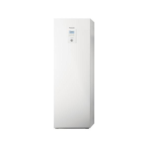 Термопомпа Panasonic Aquarea T-CAP WH-ADC1216H6E5/WH-UX09HE5, 9.0 kW, отопление, охлаждане и 185 л. БГВ