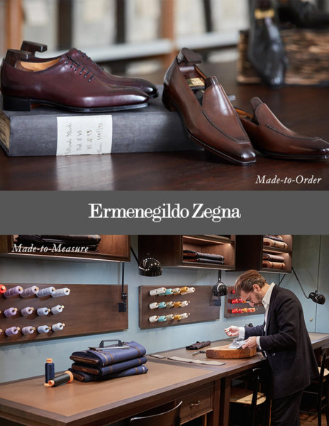 MADE-TO-MEASURE & MADE-TO-ORDER  BY ERMENEGILDO ZEGNA