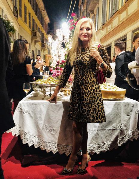 Голямата котка на модния подиум - леопардът