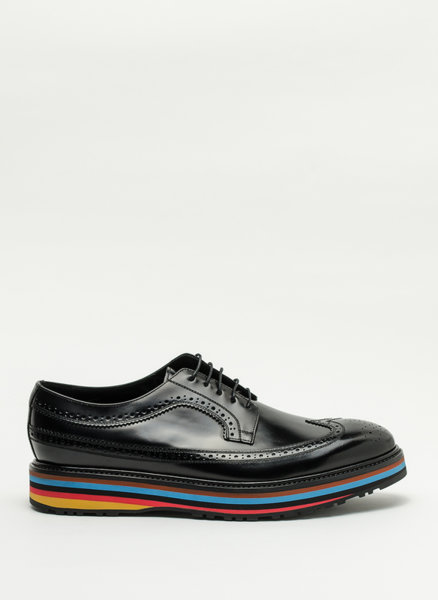 Обувки с раирана подметка