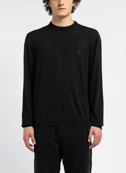 Пуловер с микро лого