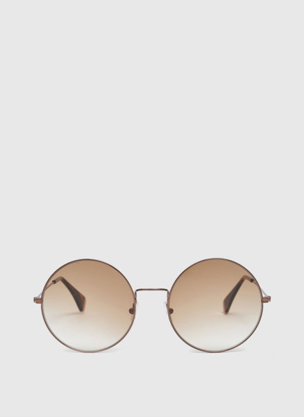 Златни кръгли очила