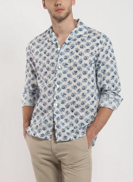 Риза с флорален принт